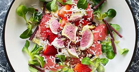 Ovocný salát s fíky