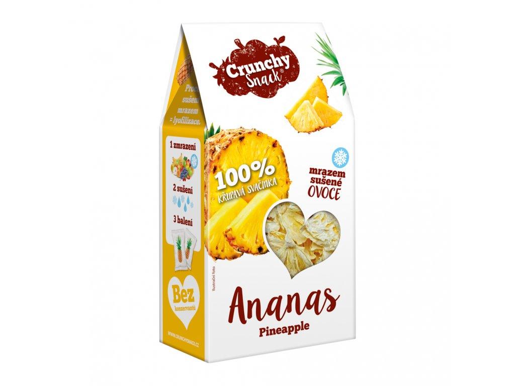 Crunchy Snack Ananas B