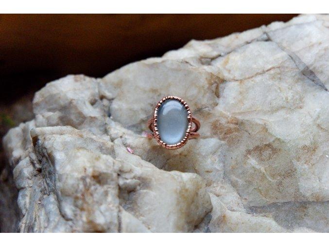 Prsten s měsíčním kamenem vel. 51-52