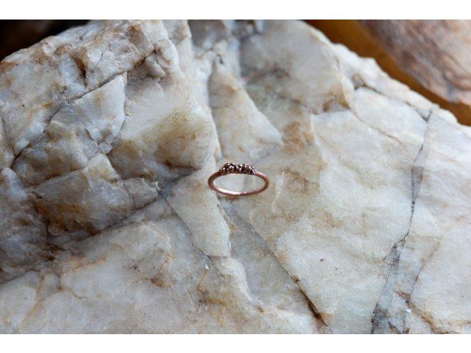 Prsten s diamanty vel. 49