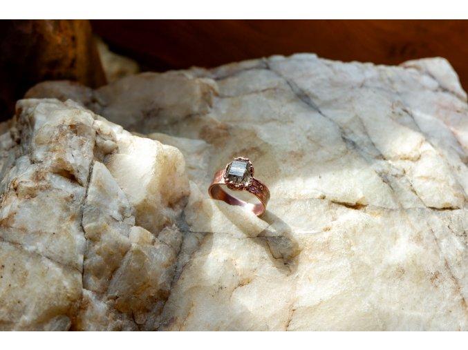 Prsten s  tibetským křišťálem vel. 58