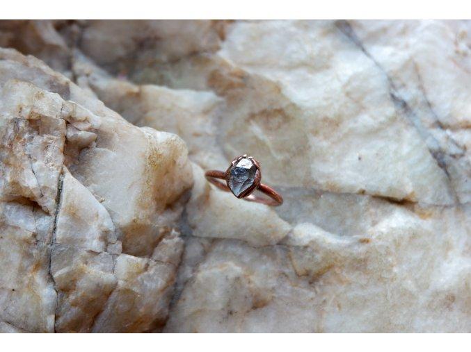 Prsten s  tibetským křišťálem vel. 57-58