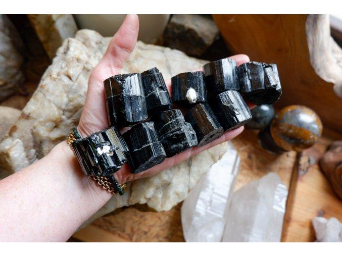 Skoryl (černý turmalín) 1