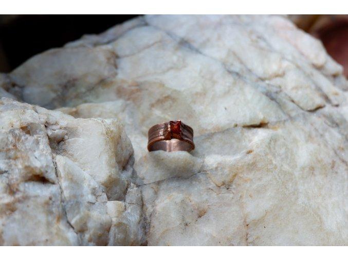 Prsten se zirkonem vel. 52