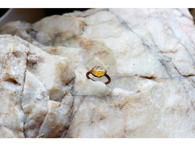 Prsten s heliodorem vel. 47