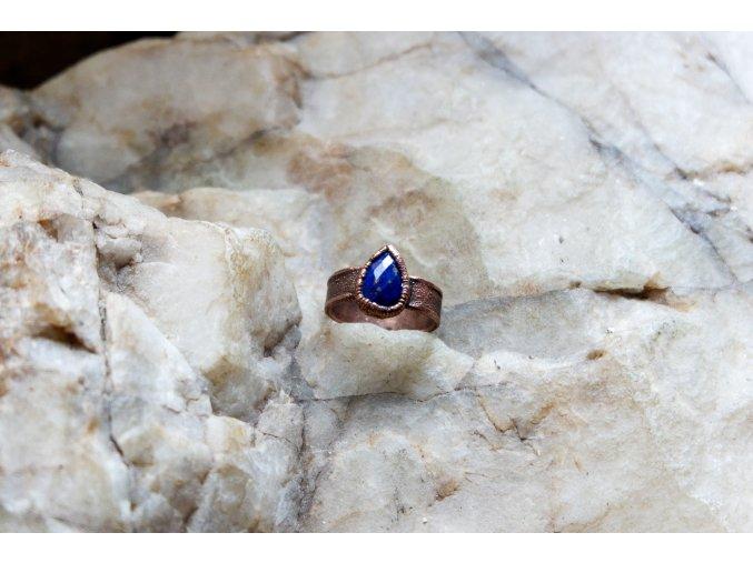 Prsten s lapis lazuli vel. 51-52