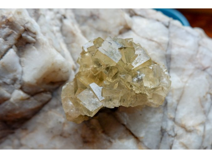 Žlutý fluorit 139g