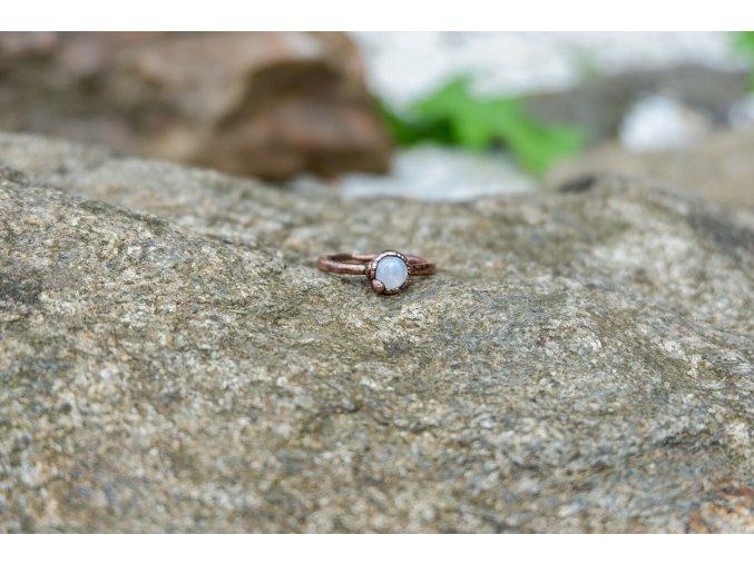Prsten s měsíčním kamenem vel. 55