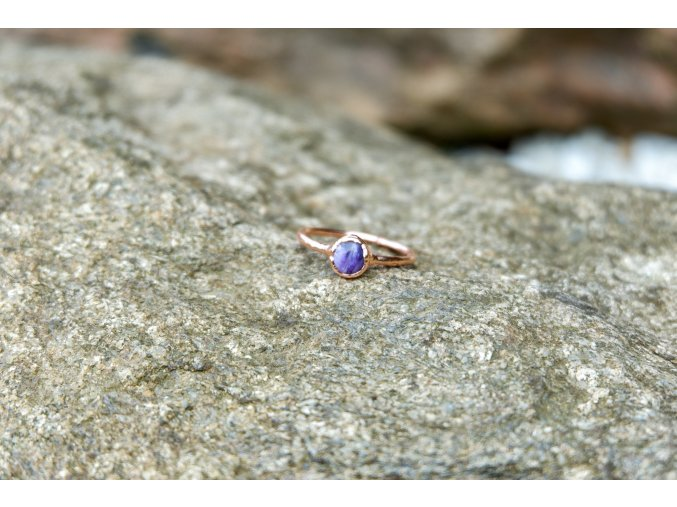Prsten s čaroitem vel. 58