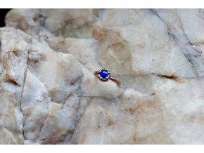 Prsten s lapis lazuli vel. 51