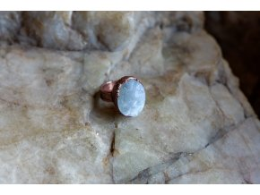Prsten s měsíčním kamenem vel. 51