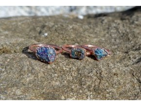 Prsten s chalkopyritem