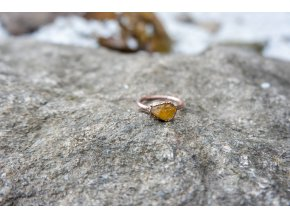 Prsten s heliodorem