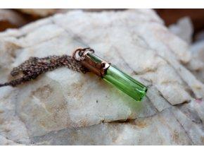 Krystalová esence - turmalín (zelená)