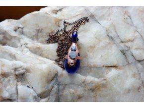 Krystalová esence - safír  (modrá)
