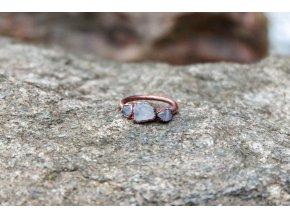 Prsten s růženínem vel. 53