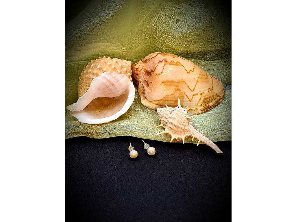 Naušnice říční perly