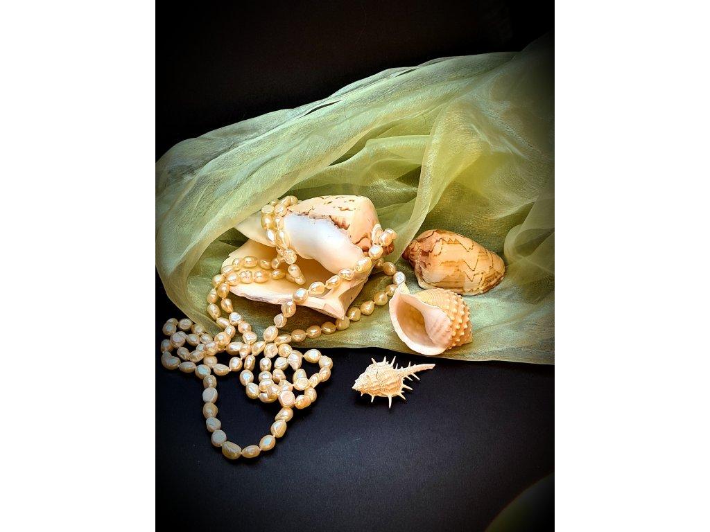 Náhrdelník - říční perly