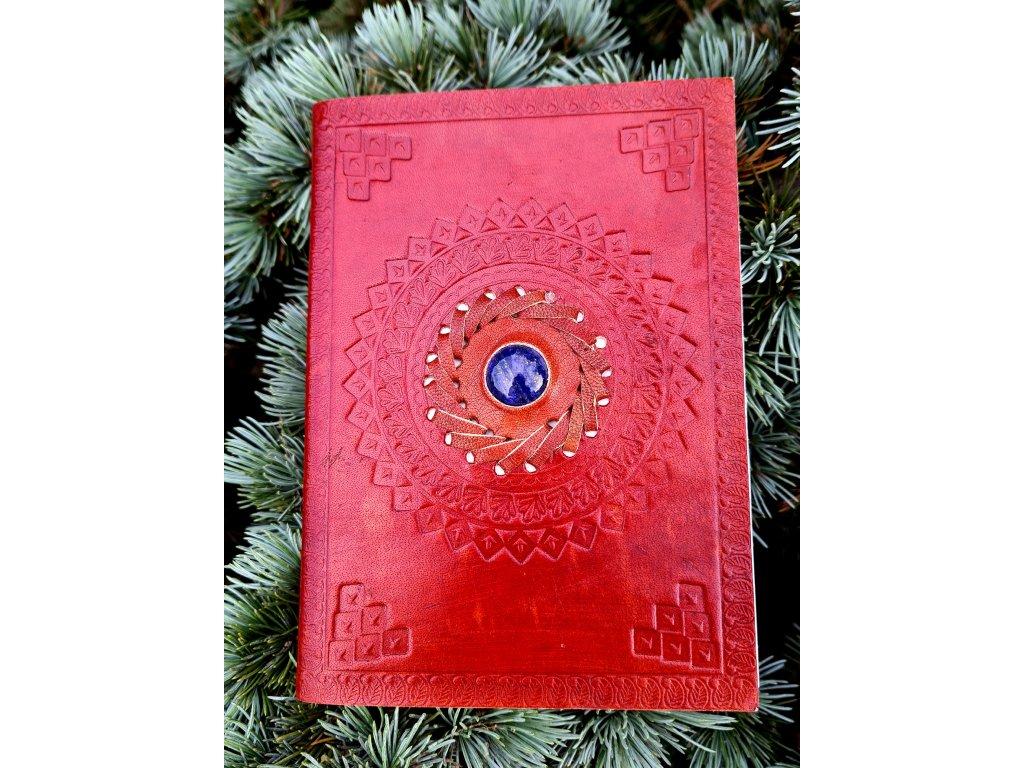 Kožených deník - lapis lazuli