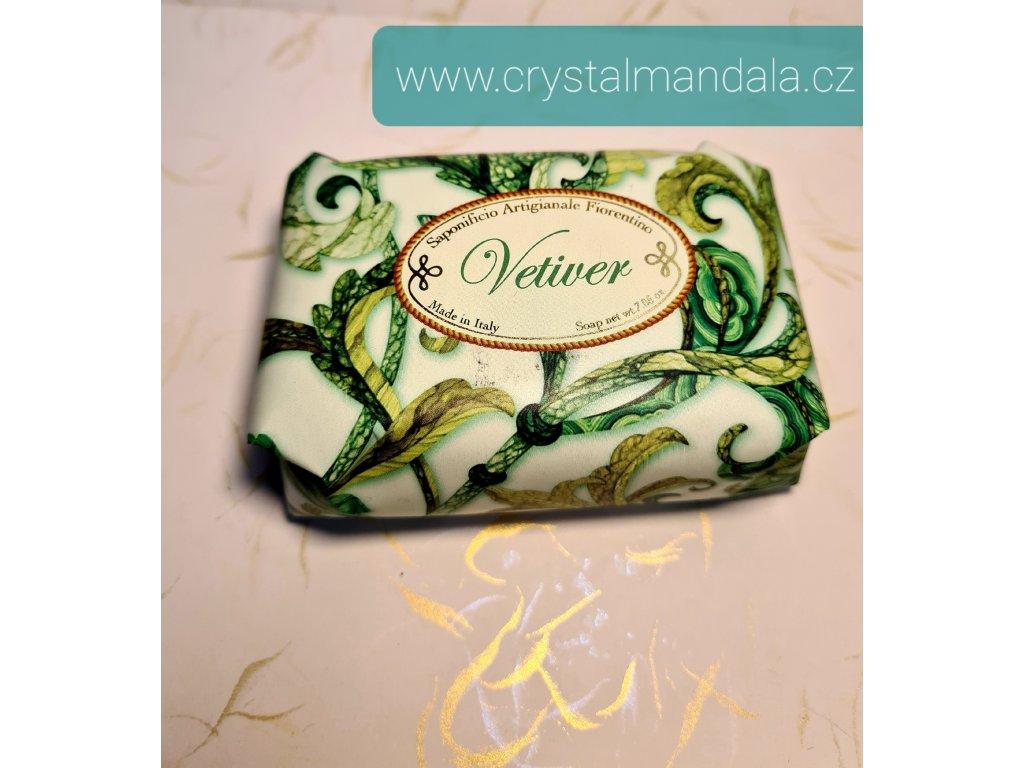 Přírodní mýdlo - vetiver