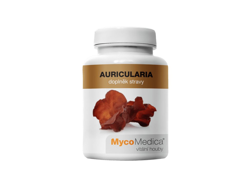 MycoMedica Auricularia 90 tobolek