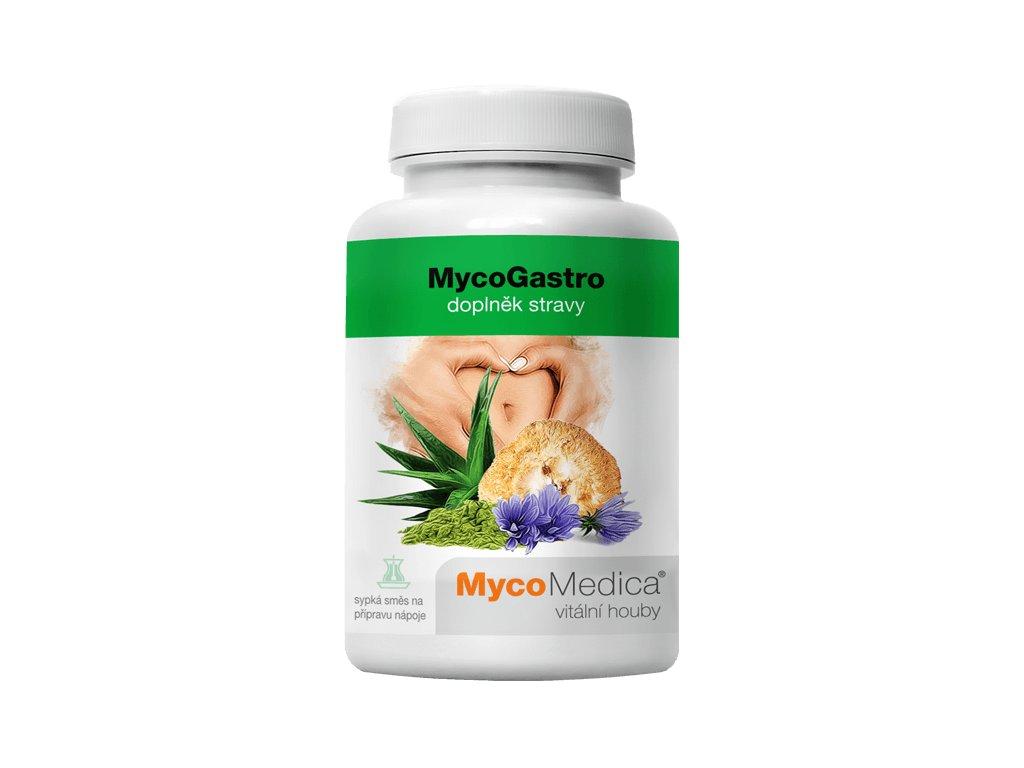MycoMedica MycoGastro sypká směs pro přípravu nápoje 90g