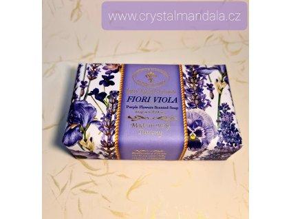 Přírodní mýdlo - Fiori Viola