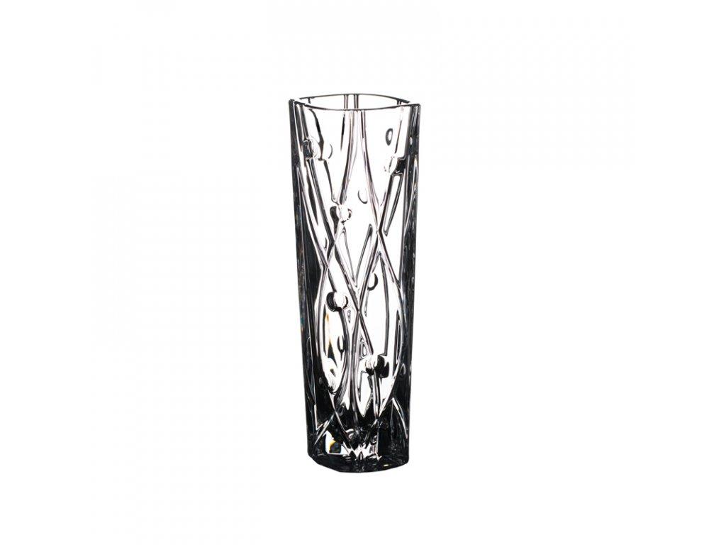 Skleněná váza Labyrinth 255 mm