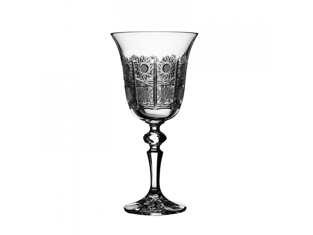 Broušené sklenice Laura na likér. 6 ks. Brus klasik 500 PK.