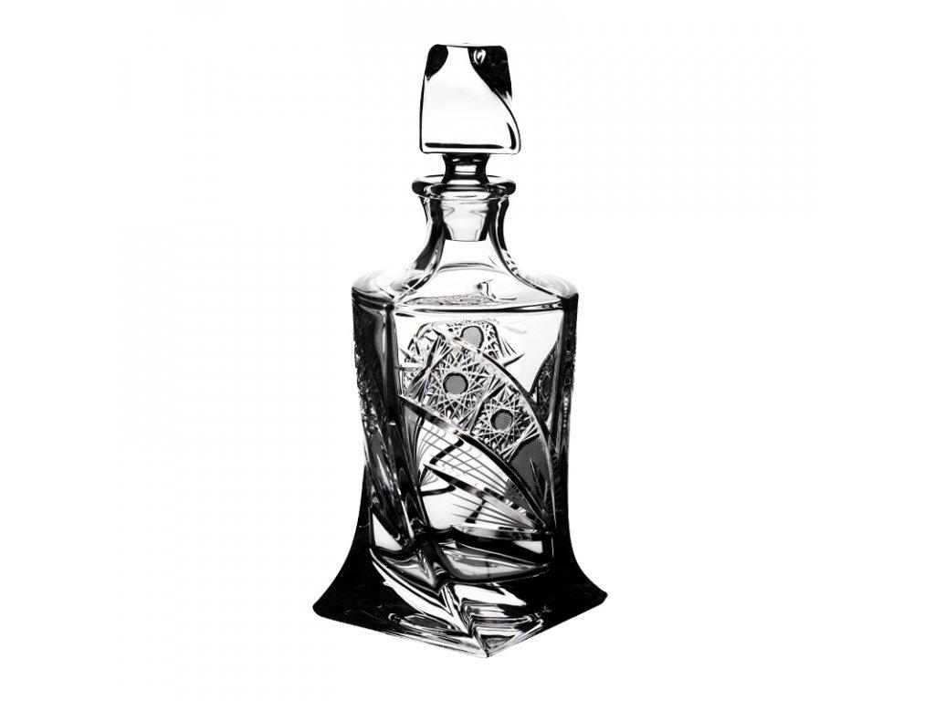 Lahev na whisky Quadro 0,85l. Brus Kometa.