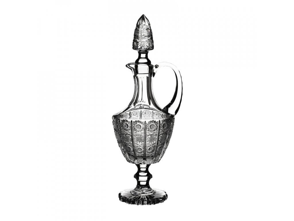 Karafa na víno 56683/750ml. Klasický brus 500 PK