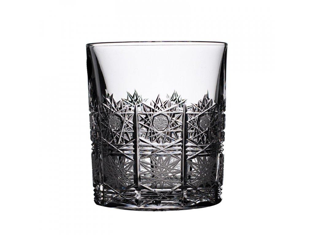 Broušené sklenice na whisky. 6 ks. Brus klasik 500 PK.