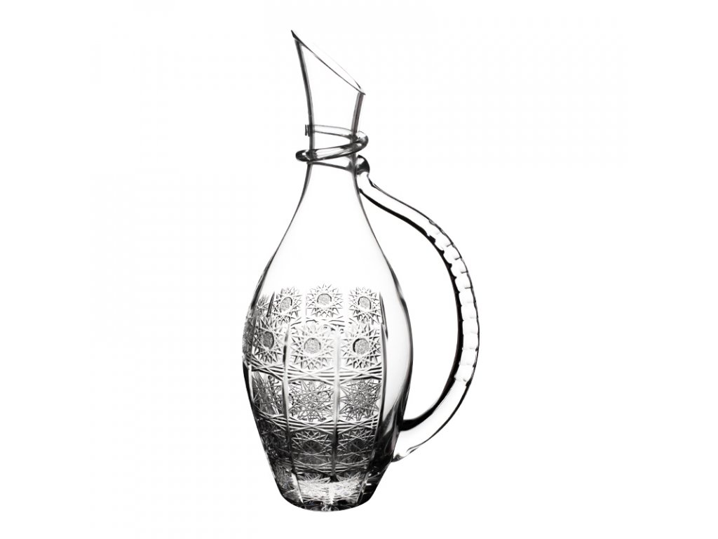 Karafa na víno 99101/1000 ml. Klasický brus 500 PK