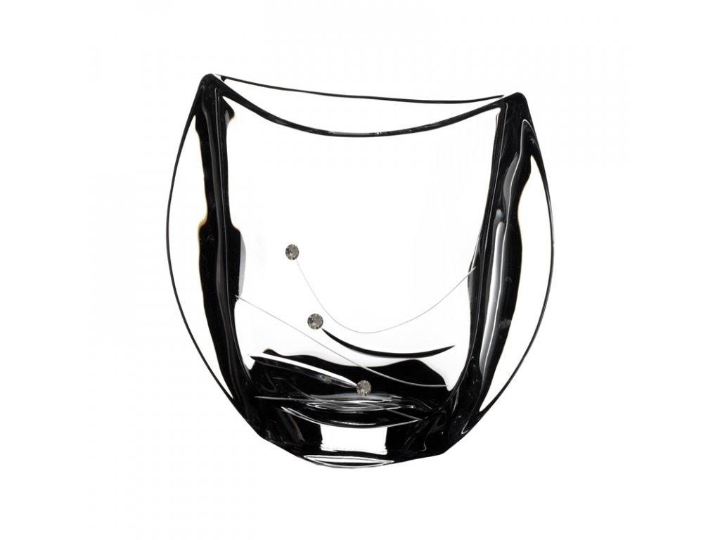Skleněná váza Orbit 180 mm Swarovski