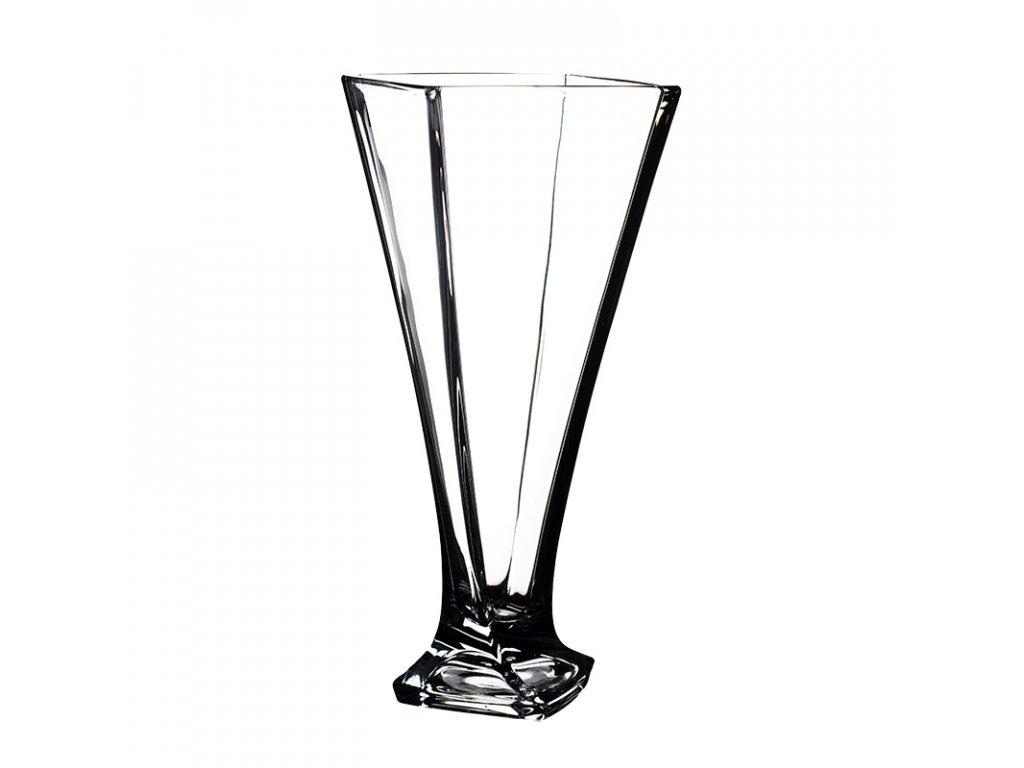 Skleněná váza Quadro 280 mm