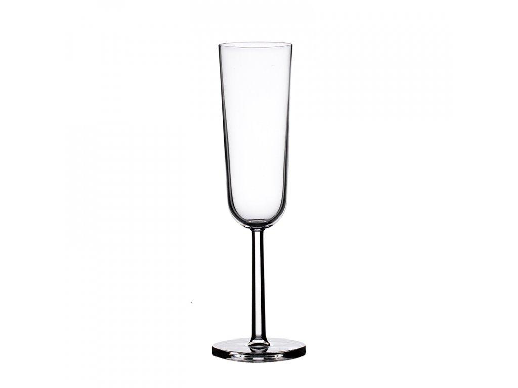 Sklenice na šampaňské flétny Vicenza 4 ks. 190 ml