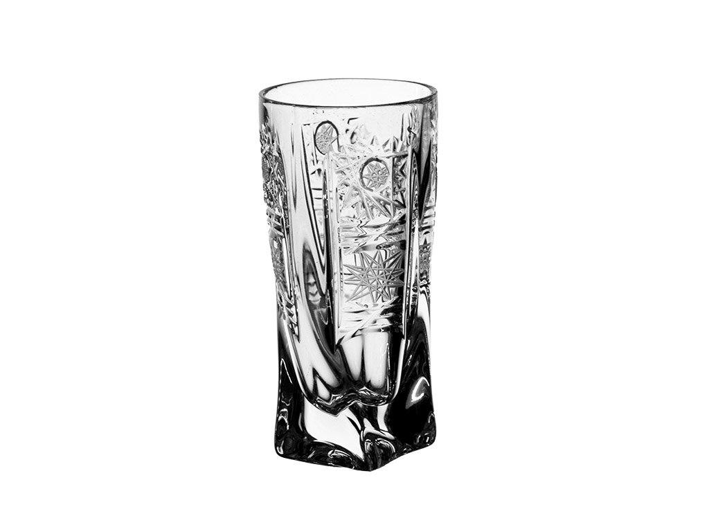Broušené sklenice Quadro na destiláty. 50 ml 6 ks. Brus klasik 500 PK.