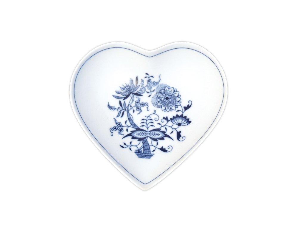 Miska srdce - cibulový porcelán 10244