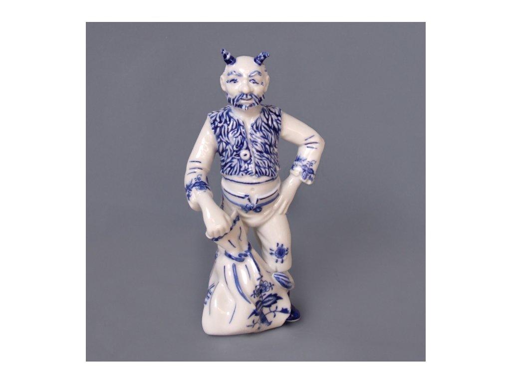 Čert Lucifer - cibulový porcelán 10144