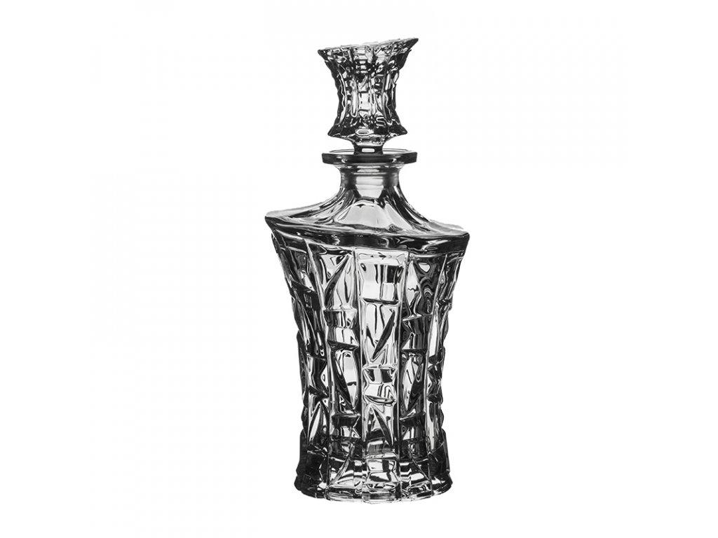 Crystal Bohemia PATRIOT lahev na whisky 0,7 l