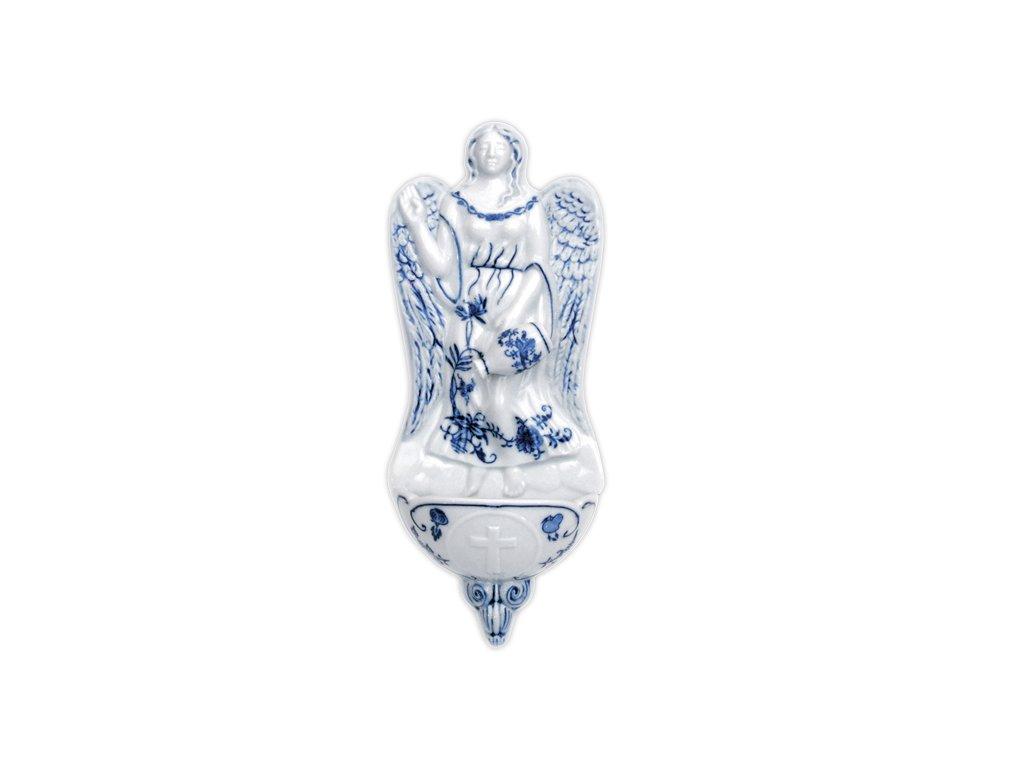 Domácí závěsná andělská kropenka - cibulový porcelán 10620