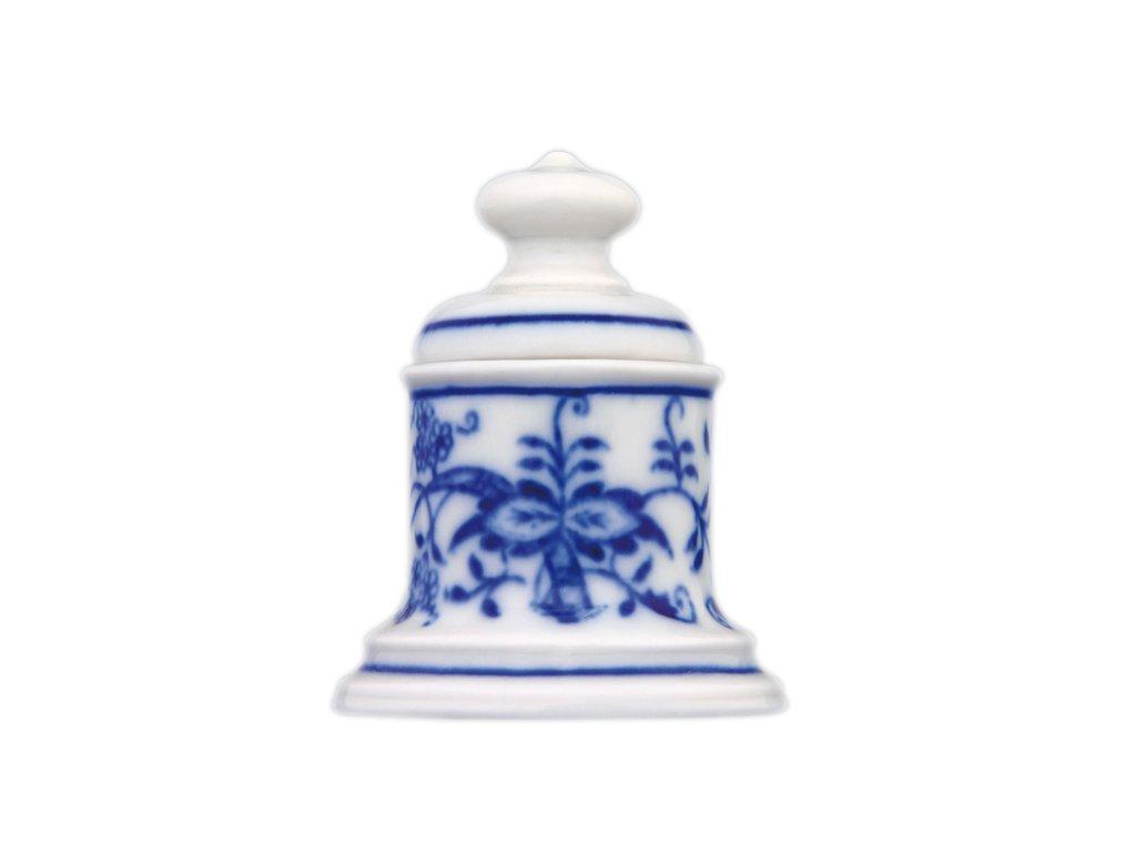 Dóza na špendlíky s víčkem - cibulový porcelán 70245