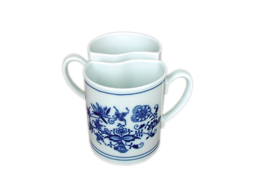 Hrnek Duo - 2 ks - cibulový porcelán 70589