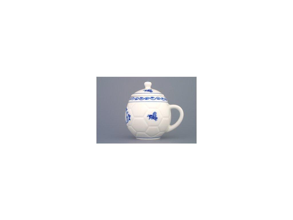 Hrnek na med s víčkem - cibulový porcelán 70550
