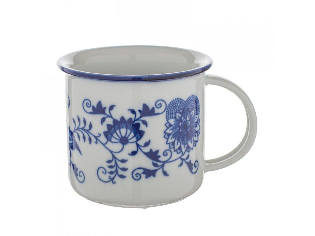 Hrnek Tina 0,38l originál cibulákový porcelán Dubí 10589