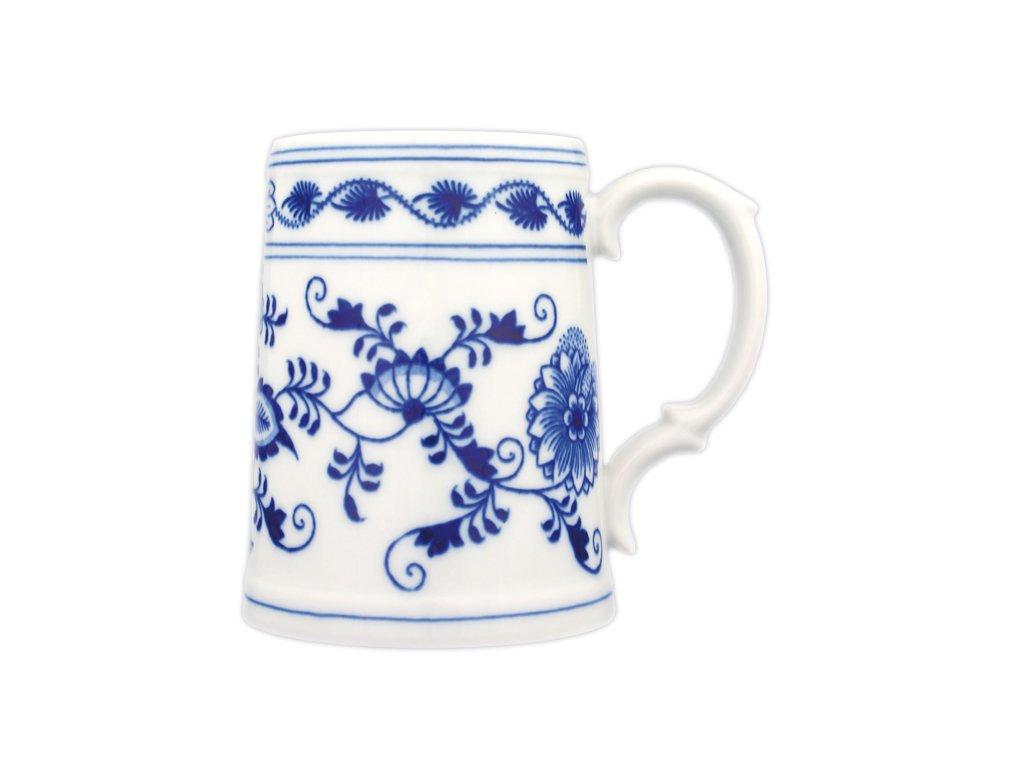 Korbel hladký - cibulový porcelán 10138