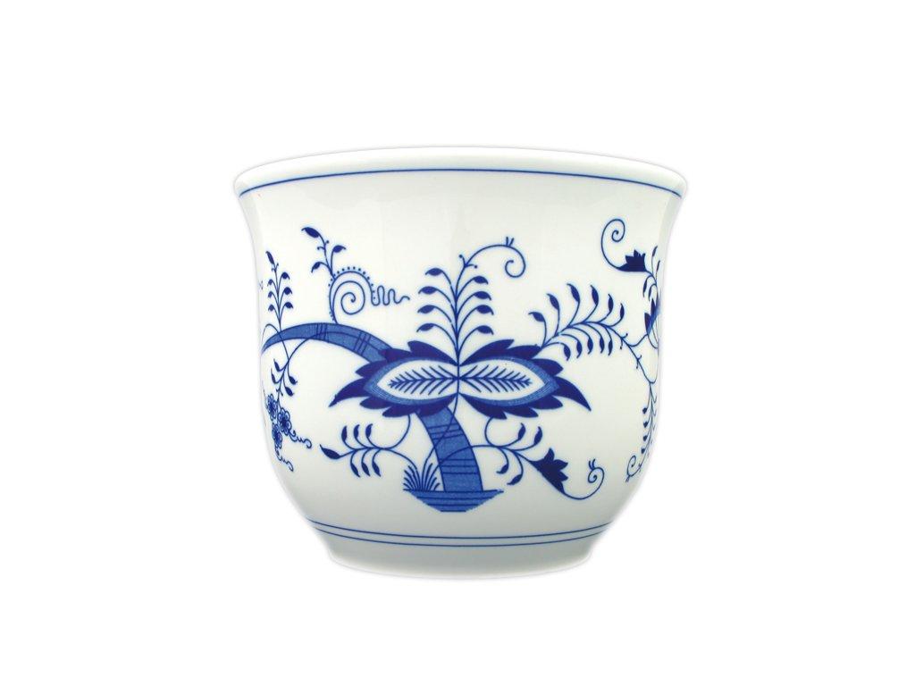 Květináč malý bez uch - cibulový porcelán 10627