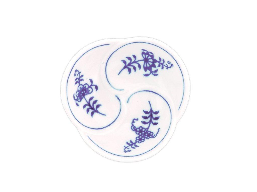 Miska trojlístek - cibulový porcelán 10438