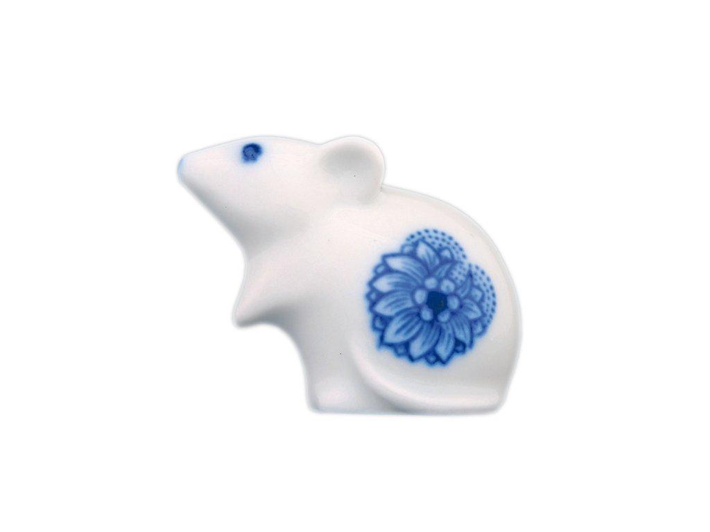 Myš - cibulový porcelán 10287