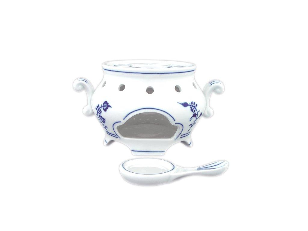 Ohřívač - komplet - cibulový porcelán 70205